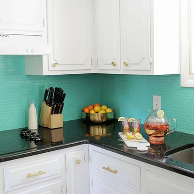 Pintar baldosas de cocina trendy stunning banner pintar azulejos de cocina with cocinas con - Cocinas con azulejos pintados ...