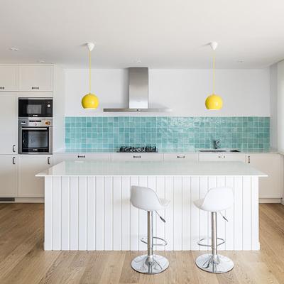 Ideas y fotos de azulejos turquesa para inspirarte habitissimo - Alicatado cocina ...