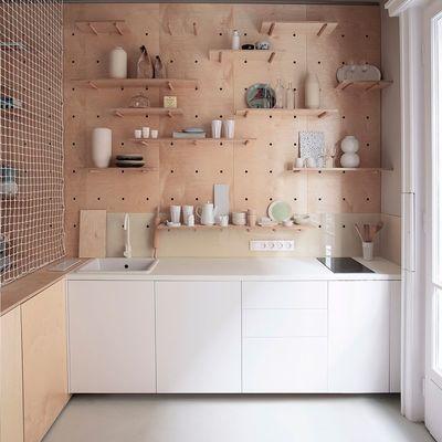 7 cocinas sin armarios que presumen de orden