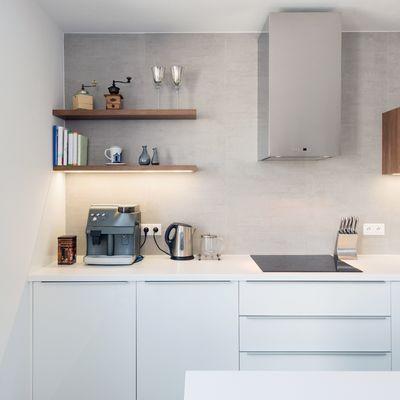 Azulejos para cocinas blancas y modernas