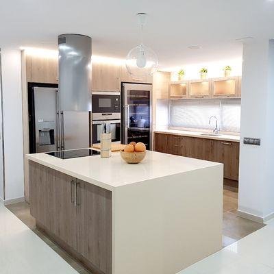 5 Razones para añadir una isla a tu cocina