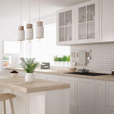 Desmontando estancias: 4 cocinas con barra y sus precios