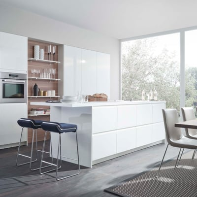 Ideas y fotos de muebles cocina enterizos para inspirarte - Muebles en pontevedra ciudad ...