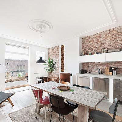 De mansión del XX a piso contemporáneo del XXI