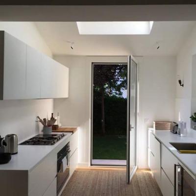 Cocina con su ventana VELUX