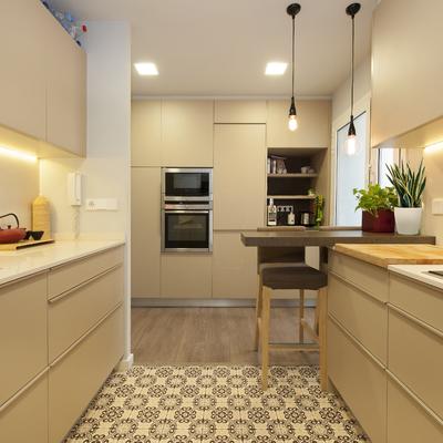 Un piso que ganó modernidad y funcionalidad