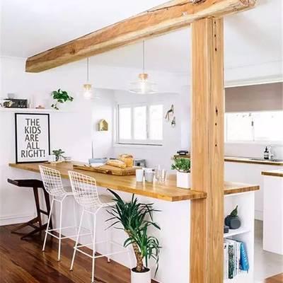 11 formas de integrar los pilares y columnas de madera