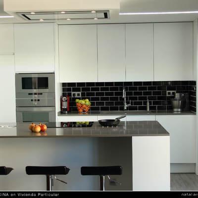 Cocina detalle con luz natural