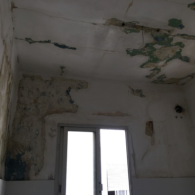 Repacion/renovacion de paredes de cocina