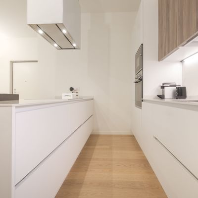 Cocinas en paralelo vs lineal: ventajas y desventajas