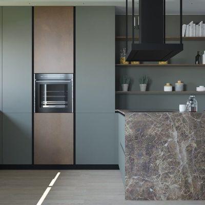 Añade color y profundidad a tu cocina con estos 4 colores