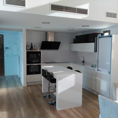 Cocina en vivienda