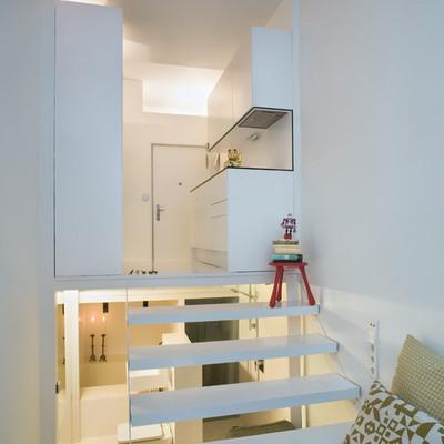 Diseño inteligente y efectivo en un apartamento de 20m²