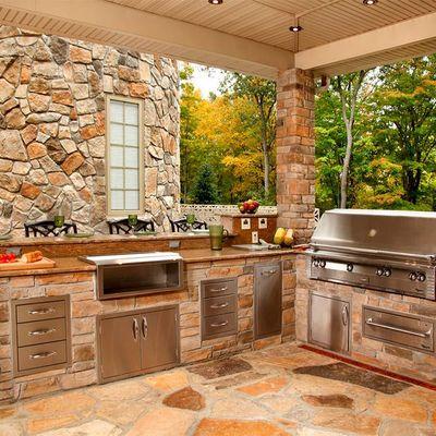 7 ideas para disfrutar de una cocina de exteriores