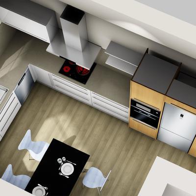 Proyecto de cocina en 3D