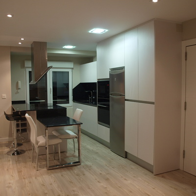 60 m2 llenos de luz y espacios abiertos