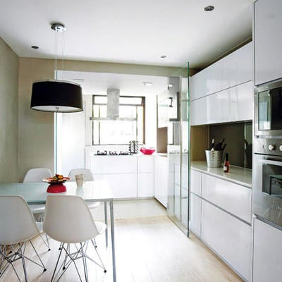 Cocina integrada salón comedor en  Madrid