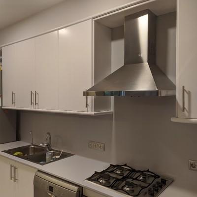 Lacado de muebles de cocina y encimera