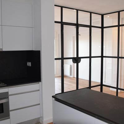 Reforma total de vivienda de 120 m2 con cambio de distribución en Barcelona