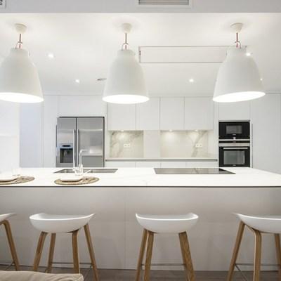 Proyecto Laia i Álvaro cocina abierta al salón