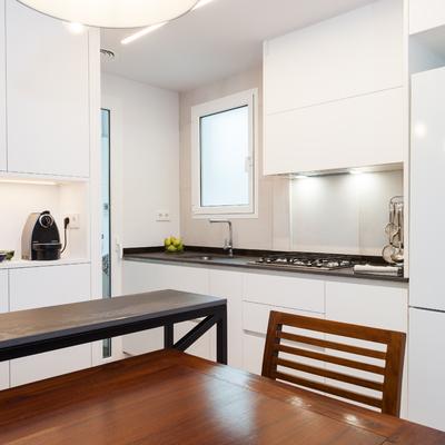 Cómo una reforma hizo brillar a este piso de 70 m²
