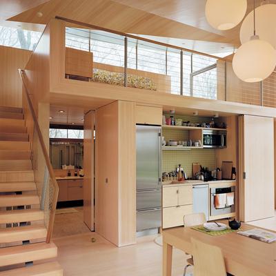 Cocinas ocultas, espacios multifuncionales