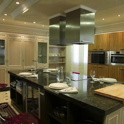 Cocina-Office en residencia familiar