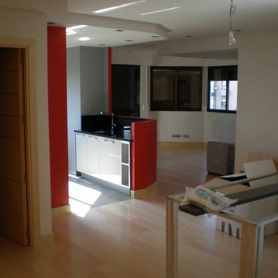 cocina-salón abierto