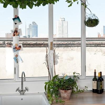 Un apartamento de estilo bohemio y vintage