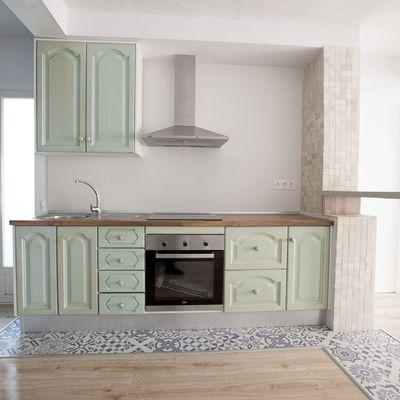 Pintar los muebles de tu cocina