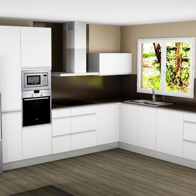Proyecto cocina en 3D