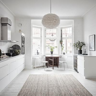 cocina y puerta corredera