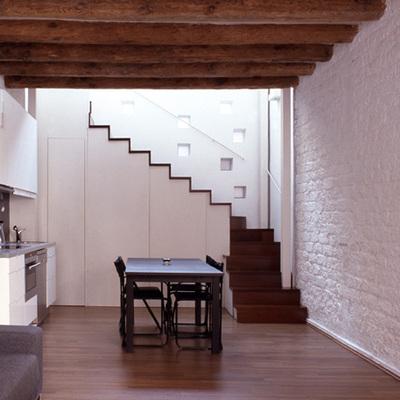 Las escaleras como elemento unificador en el Eixample de Barcelona