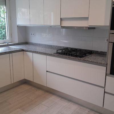 Muebles de cocina renovados