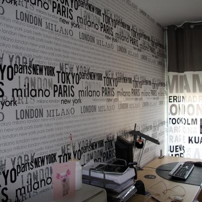 Col·locació de paper pintat