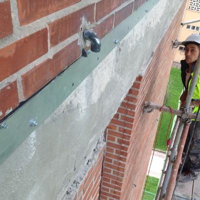 Reparación y refuerzo estructural del hormigón