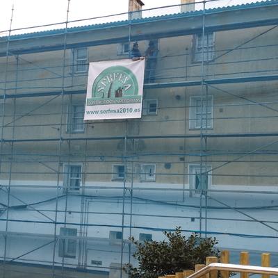 Rehabilitacion de fachada y cubierta, en a Coruña
