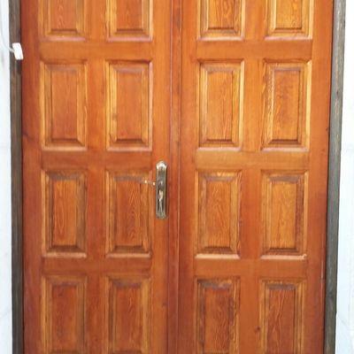 Restauracion de puerta del Faro de Javea