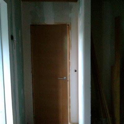 Colocación puertas y tabiques armarios empotrados