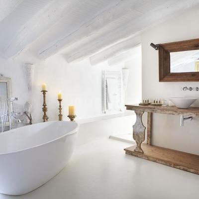 Color baño romantico