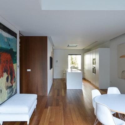 Una casa con patio en el centro de Madrid