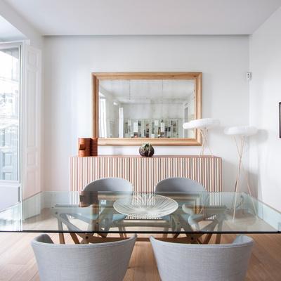 Una vivienda elegante y ecléctica