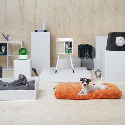Ikea saca una colección de muebles para perros y gatos