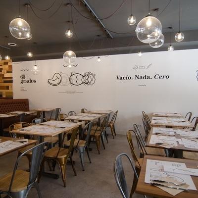 Reformas restaurantes Madrid. Restaurante 65º
