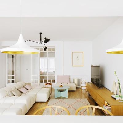 Decoración de una casa actual, ordenada y acogedora