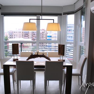 Reforma integral de un apartamento en el que la terraza se incorpora al salón