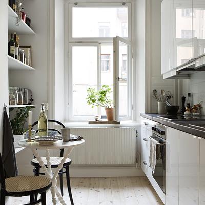 Ideas y fotos de cocinas de estilo rom ntico en valencia - Cocina comedor pequeno ...