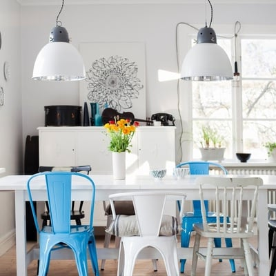 Ideas y fotos de sillas turquesa para inspirarte habitissimo for Sillas comedor turquesa