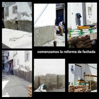 reforma de fachada en el palo malaga