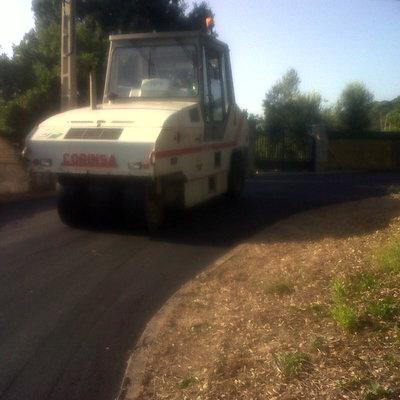 compactado asfalto